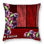 Plus Farm Throw Pillow
