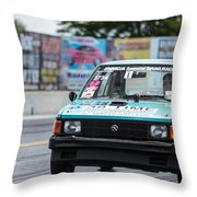 Plymouth Horizon - 01 Throw Pillow