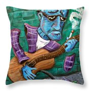 Po Man Throw Pillow