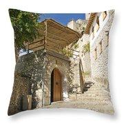 Pocitelj Village In Bosnia Throw Pillow