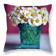 Pocket Garden Throw Pillow
