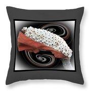 Pod In A Frame Throw Pillow