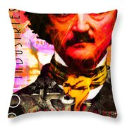 Poe Industries Steampunk Machines Patent Pending 20140518 Square V3 Throw Pillow