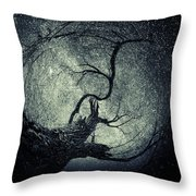 Poems In The Sky Throw Pillow