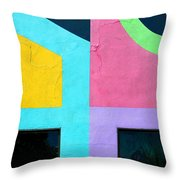 Point Counterpoint Throw Pillow
