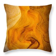 Point Lobos Abstract 6 Throw Pillow