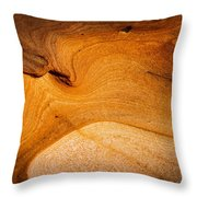 Point Lobos Abstract 8 Throw Pillow