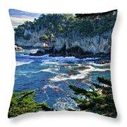 Point Lobos Throw Pillow