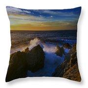 Point Lobos Two Throw Pillow