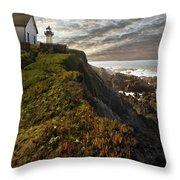Point Montara Light House II Throw Pillow