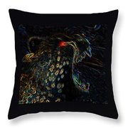 Point Of Attack Throw Pillow