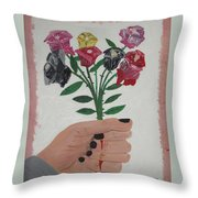 Point Of Beauty Throw Pillow