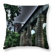 Point Pleasant West Virginia Throw Pillow