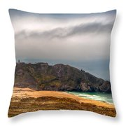 Point Sur Lighthouse Throw Pillow
