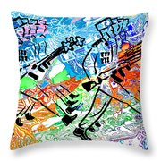 Point Your Toes For The Great Leader 20150223 Throw Pillow