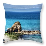 Pointe Du Hoc Throw Pillow
