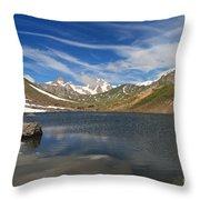 Pointe Rousse Lake Throw Pillow