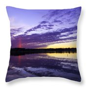 Pointed Light Throw Pillow