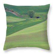 Points Leading Home Throw Pillow