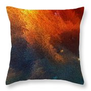 Points Of Light Abstract Art By Sharon Cummings Throw Pillow by Sharon Cummings
