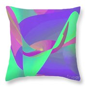 Poised Throw Pillow by ME Kozdron