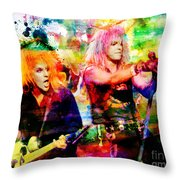 Poison Original Painting Print Throw Pillow