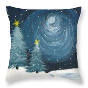 Polar Vortex 2014 Throw Pillow