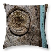 Pole 95 The Knot Throw Pillow