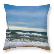 Poles Apart  Throw Pillow