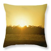 Polk City Sunrise Throw Pillow