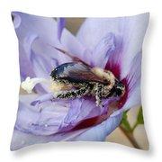 Pollen Passion Throw Pillow