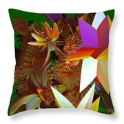 Pollination By Jammer Throw Pillow