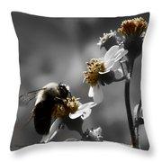 Pollination  Throw Pillow