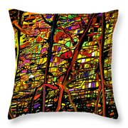 Pollock Revised Throw Pillow