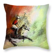 Polo 01 Throw Pillow