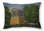 Polo Lime Kiln Throw Pillow