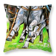 Polo Stampede Throw Pillow