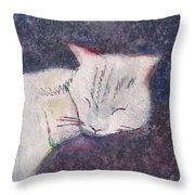 Poloma Sleep2 Throw Pillow