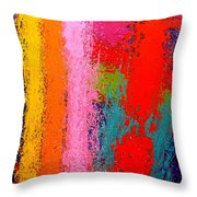 Polyphony IIi Throw Pillow