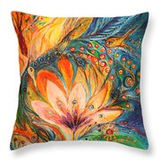 Polyptich Part I - Water Throw Pillow