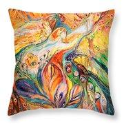 Polyptich Part II - Air Throw Pillow