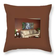 Polyptych Display Sample 02 Throw Pillow