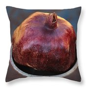 Pomegranate In A Vase Throw Pillow