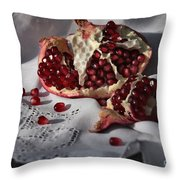 Pomegranate  Seed Throw Pillow