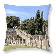 Pompeii 2 Throw Pillow
