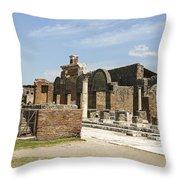 Pompeii 3 Throw Pillow