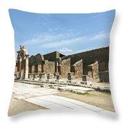 Pompeii 5 Throw Pillow