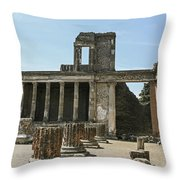Pompeii 8 Throw Pillow