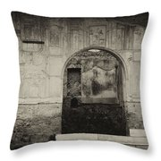 Pompeii Italy Throw Pillow