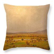 Pompton Plains. New Jersey Throw Pillow